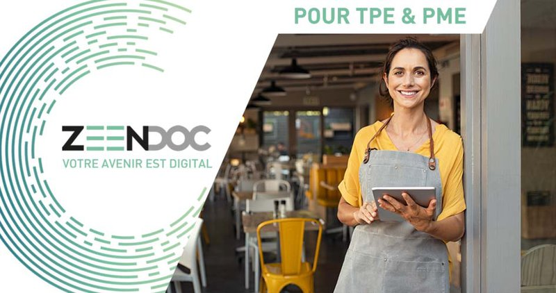 Zeendoc facilite la vie des TPE et PME dans un monde connecté - Inovaport rendeur conseil Zeendoc vous accompagne